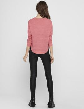 Jersey ONLCAVIAR L/S PULLOVER KNT NOOS  ONLY - Rosa