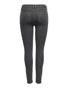 Jeans ONLCHRISSY LIFE HW SK ANK BB AMON-49 - Gris