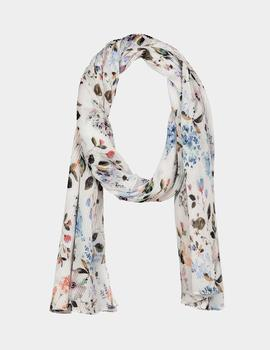 Foulard Bloom Scarves - Blanco