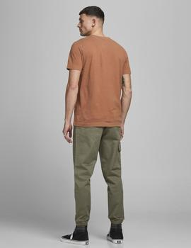 Camiseta JJEWASHED TEE O-NECK NOOS Jack & Jones - Teja