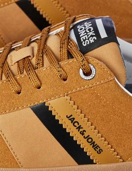 Playeros JFWWALCOT SYNTH SUEDE GOLDEN BROWN
