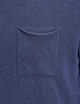 Jersey JORNIGEL KNIT CREW NECK Jack & Jones - Azul