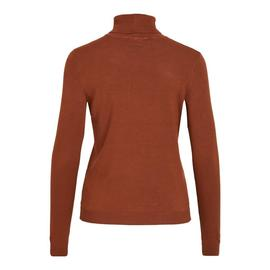 Jersey VIBOLONIA ROLLNECK L/S KNIT TOP-NOOS - Marrón