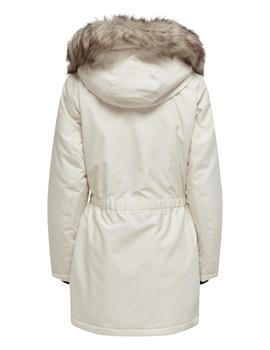 Parka ONLIRIS FUR WINTER PARKA CC OTW ONLY -Blanco Roto