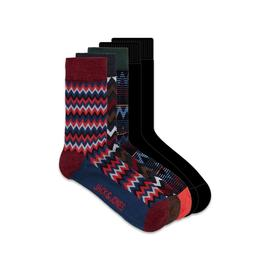 Calcetines JACWINTER PATTERN SOCKS 5 PACK - Multicolor