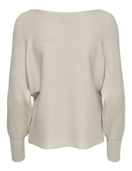 Jersey ONLADALINE LIFE L/S PULLOVER KNT ONLY - Beige