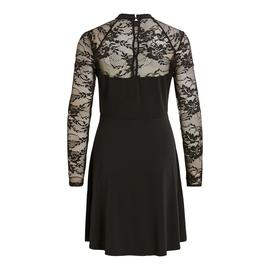 Vestido VITRYKS LACE DETAIL L/S DRESS VILA - Negro