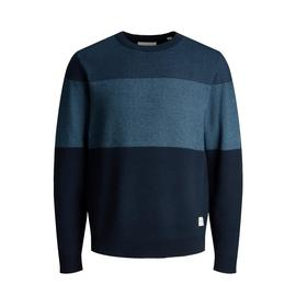 Jersey JCOJUSTIN KNIT CREW NECK Jack & Jones - Azul