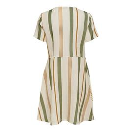 Vestido ONLSUMMER S/S DRESS WVN ONLY - Beige