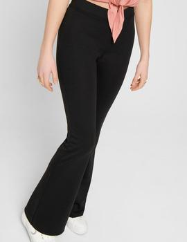 Pantalón ONLFEVER STRETCH FLAIRED PANTS JRS NOOS -Negro