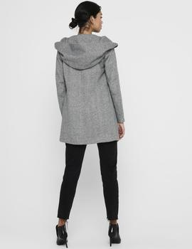 Abrigo ONLSEDONA LIGHT COAT OTW NOOS ONLY - Gris Claro