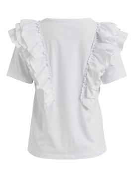 Top VIEMILIA S/S TOP/SU VILA - Blanco