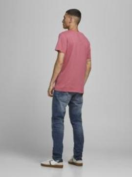 Camiseta JJART TEE SS CREW NECK Jack & Jones - Rosa