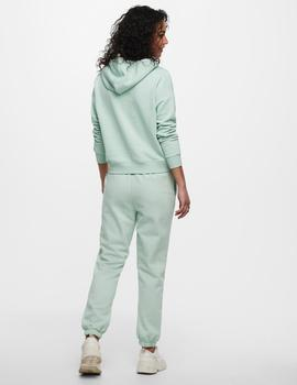 Pantalón ONLCOLLEGE LIFE PANTS SWT ONLY - Verde Agua