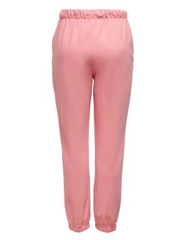 Pantalón ONLCOLLEGE LIFE PANTS SWT ONLY - Rosa